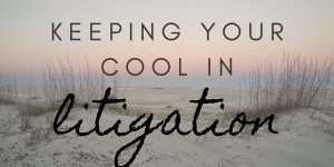 Keeping Your Cool in